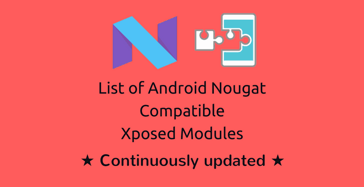android-n-xposed-modules