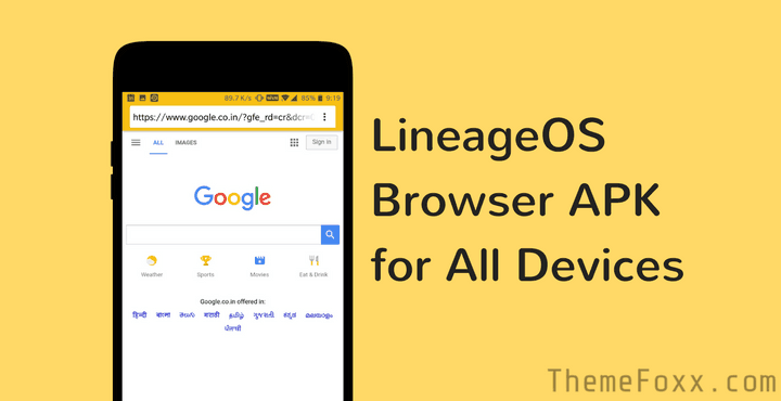 Lineage OS Browser APK • Download Lineage OS Browser [Jelly] APK for All Devices