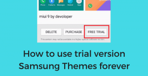 convert samsung themes trail version to full version • Convert Trial Version Samsung Themes to Full Version [No Root]