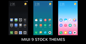 miui 9 stock themes • Download MIUI 9 Stock Themes for All MIUI 8 Devices