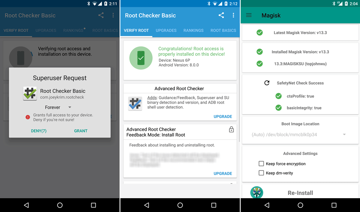 root-Android-Oreo-SuperSu-Magisk