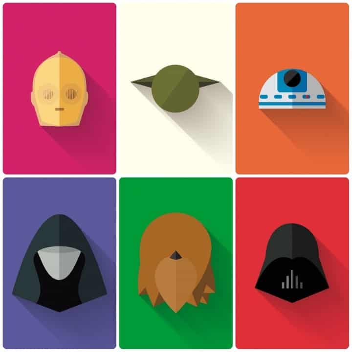 Minimal Star Wars Wallpapers Preview 2 • Download Minimalistic Star Wars Wallpapers [12 Wallpapers]