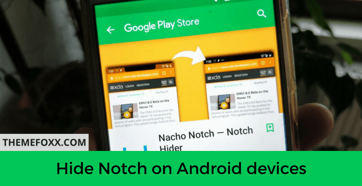 Hide-Notch-Android