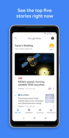 Best Android Apps Google News 1 • 22 Free Best Android Apps That You Must Have [By Category]
