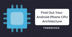find-android-cpu-architecture