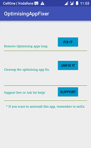 Stop-Optimizing-Apps-Android-8