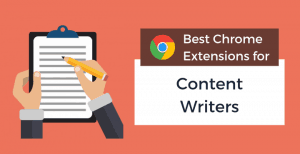 best-chrome-extensions-writers